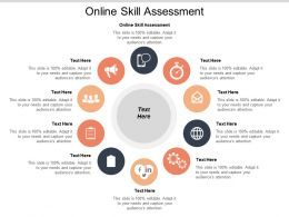 Online Skill Assessment Ppt Powerpoint Presentation Layouts Templates Cpb