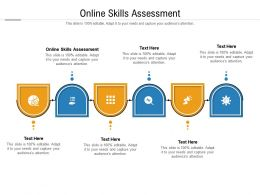 Online Skills Assessment Ppt Powerpoint Presentation Template Cpb
