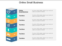 Online Small Business Ppt Powerpoint Presentation Styles Layout Cpb