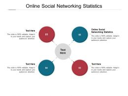 Online Social Networking Statistics Ppt Powerpoint Presentation Layouts Cpb