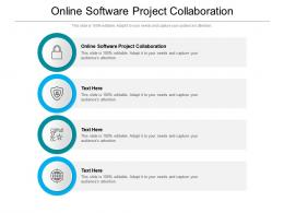 Online Software Project Collaboration Ppt Powerpoint Presentation Infographic Template Cpb