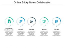 Online Sticky Notes Collaboration Ppt Powerpoint Presentation Professional Cpb