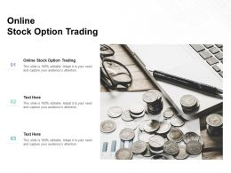 Online Stock Option Trading Ppt Powerpoint Presentation Infographic Template Inspiration Cpb