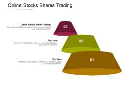 Online Stocks Shares Trading Ppt Powerpoint Presentation File Visuals Cpb