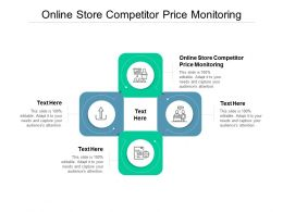 Online Store Competitor Price Monitoring Ppt Powerpoint Presentation Ideas Tips Cpb