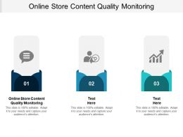 Online Store Content Quality Monitoring Ppt Powerpoint Presentation Ideas Graphic Images Cpb
