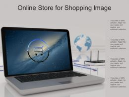 Online Store For Shopping Image