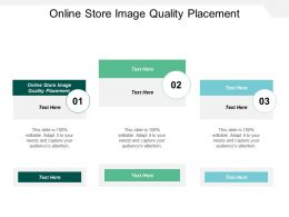 Online Store Image Quality Placement Ppt Powerpoint Presentation Ideas Good Cpb