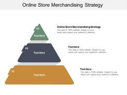 Online Store Merchandising Strategy Ppt Powerpoint Presentation Infographic Template Mockup Cpb