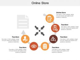 Online Store Ppt Powerpoint Presentation Infographics Infographics Cpb