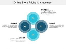 Online Store Pricing Management Ppt Powerpoint Presentation Portfolio Example File Cpb