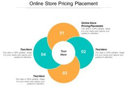 Online Store Pricing Placement Ppt Powerpoint Presentation Infographics Graphic Tips Cpb