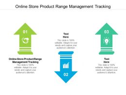 Online Store Product Range Management Tracking Ppt Powerpoint Presentation Ideas Templates Cpb
