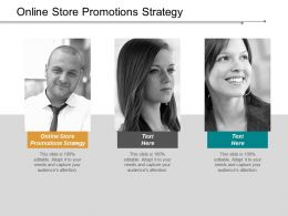 Online Store Promotions Strategy Ppt Powerpoint Presentation Inspiration Rules Cpb