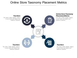 Online Store Taxonomy Placement Metrics Ppt Powerpoint Presentation Ideas Layout Cpb