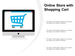 Online Store With Shopping Cart