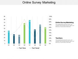 Online Survey Marketing Ppt Powerpoint Presentation Gallery Influencers Cpb