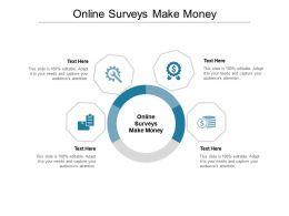 Online Surveys Make Money Ppt Powerpoint Presentation Inspiration Ideas Cpb