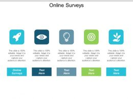 Online Surveys Ppt Powerpoint Presentation Infographic Template Ideas Cpb
