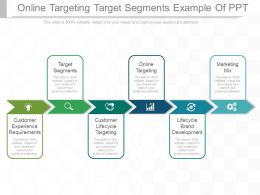 Online Targeting Target Segments Example Of Ppt