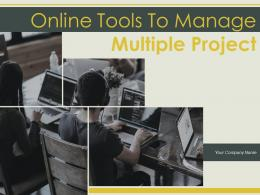 Online Tools To Manage Multiple Project Powerpoint Presentation Slides