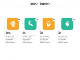 Online Traction Ppt Powerpoint Presentation File Infographic Template Cpb