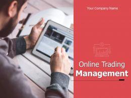 Online Trading Management Powerpoint Presentation Slides