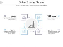 Online Trading Platform Ppt Powerpoint Presentation Model Guidelines Cpb