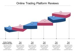 Online Trading Platform Reviews Ppt Powerpoint Presentation Gallery Outline Cpb