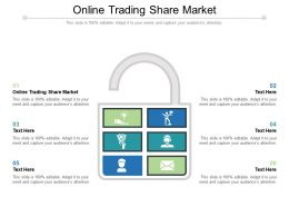Online Trading Share Market Ppt Powerpoint Presentation Diagram Graph Charts Cpb