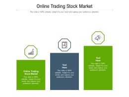 Online Trading Stock Market Ppt Powerpoint Presentation Summary Graphics Cpb