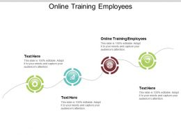 Online Training Employees Ppt Powerpoint Presentation File Objects Cpb
