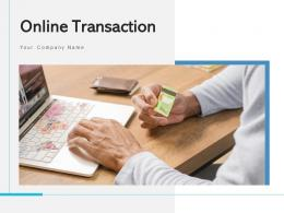 Online Transaction Computer Screen Net Banking Product Purchased