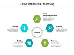 Online Transaction Processing Ppt Powerpoint Presentation Layouts Show Cpb