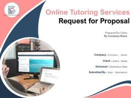 Online Tutoring Services Request For Proposal Powerpoint Presentation Slides