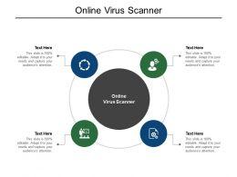 Online Virus Scanner Ppt Powerpoint Presentation Icon Show Cpb