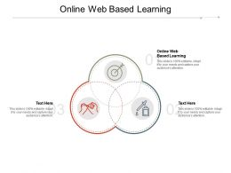 Online Web Based Learning Ppt Powerpoint Presentation Summary Introduction Cpb