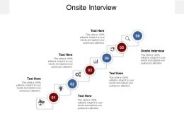 Onsite Interview Ppt Powerpoint Presentation Portfolio Outline Cpb