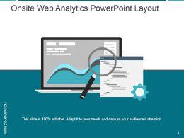 Onsite Web Analytics Powerpoint Layout