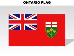 Ontario Country Powerpoint Flags