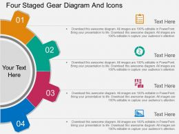 oo_four_staged_gear_diagram_and_icons_flat_powerpoint_design_Slide01