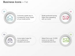 Open Compose Read Search Mail Ppt Icons Graphics