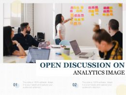 Open Discussion On Analytics Image