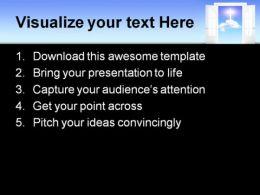 Open Door Religion PowerPoint Templates And PowerPoint Backgrounds 0511
