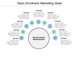 Open Enrolment Marketing Ideas Ppt Powerpoint Presentation Template Cpb