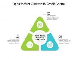 Open Market Operations Credit Control Ppt Powerpoint Presentation Inspiration Deck Cpb