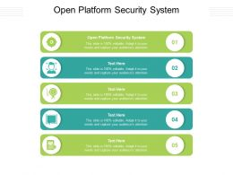 Open Platform Security System Ppt Powerpoint Presentation Outline Display Cpb