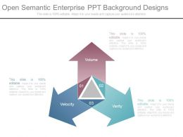 Open Semantic Enterprise Ppt Background Designs