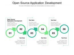 Open Source Application Development Ppt Powerpoint Outline Deck Cpb