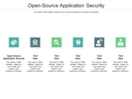 Open Source Application Security Ppt Powerpoint Presentation Professional Graphics Download Cpb